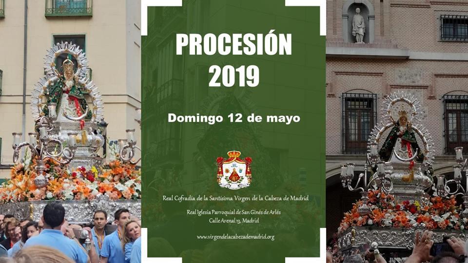 Procesión Madrid 2019
